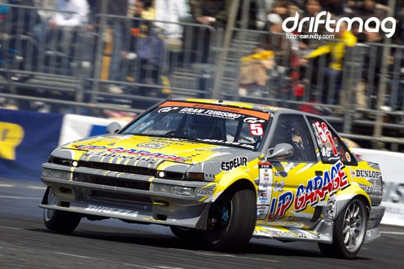 Kazuya Matsukawa's UP GARAGE AE86