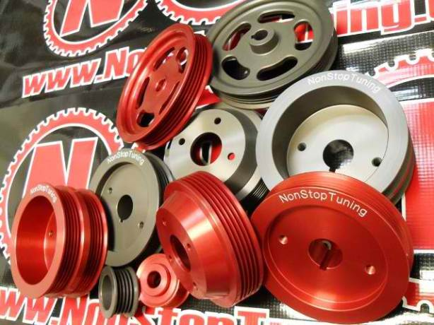 NonStopTuning AE86 Pulleys