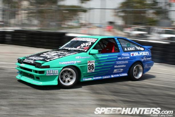 Taka Aono's Falken Tires AE86