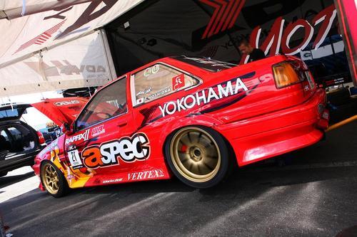 Toshiki Yoshioka's ASPEC AE86