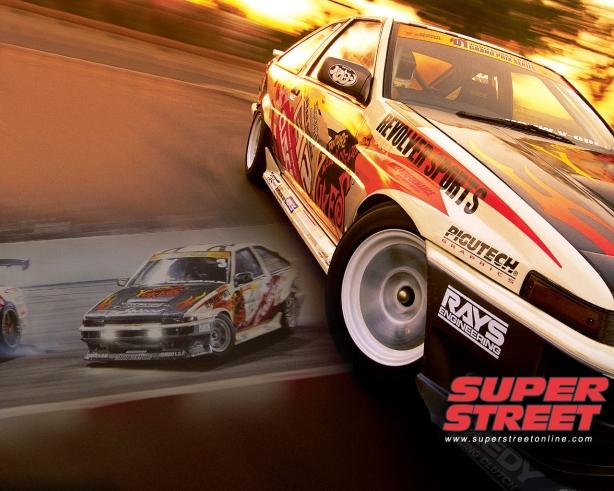 Ueo Katsuhiro's classic D1 GP AE86